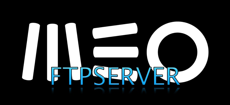 Configurar Servidor FTP com MEO