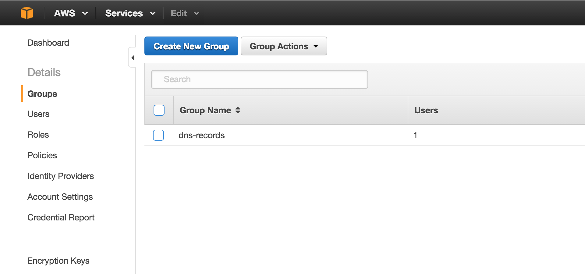 Amazon Create Group - ST1
